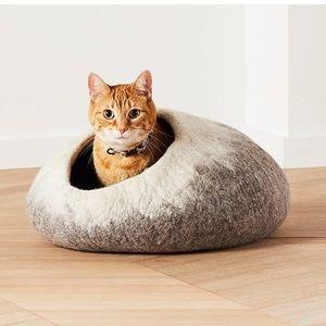 Ombré Cat Cave 100% wool Dharma Dog Karma Cat